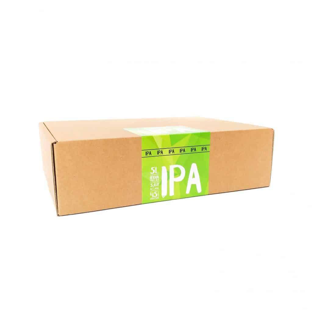 Emballage d'une recharge Eazy Brewing pour brasser une bière recette IPA